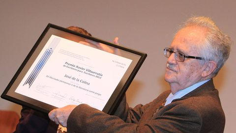 El escritor José de la Colina, en una imagen de archivo