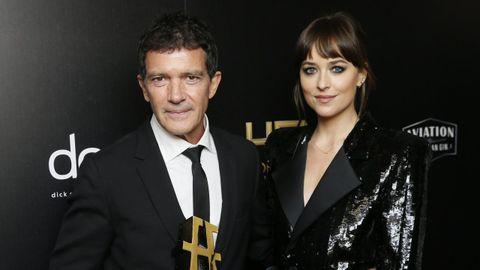 Antonio Banderas se lleva el galardón al mejor actor en los Hollywood Film Awards