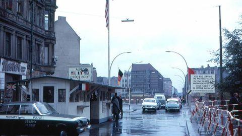 Checkpoint Charlie fue el más famoso de los pasos fronterizos