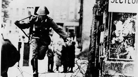 Hans Conrad Schuman fue el primer desertor de la RDA