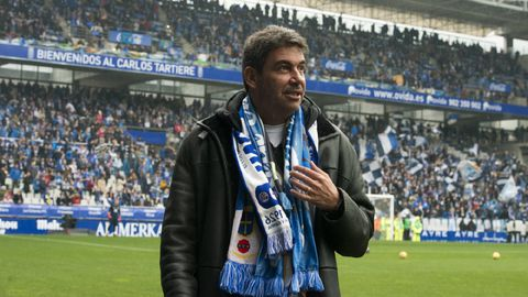 Arturo Elías en el Carlos Tartiere