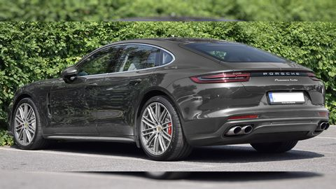 Foto de archivo de un Porsche Panamera