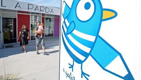 La escuela de A Parda, en Pontevedra, es una de las que cuenta con horario más extenso, y también una de las más demandadas