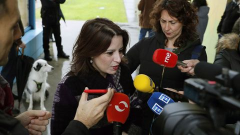 La socialista Adriana Lastra, encargada de las negociaciones del PSOE