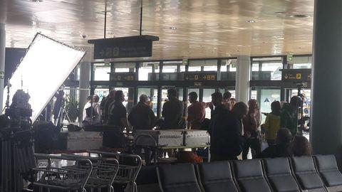 Grabación en el aeropuerto de Asturias