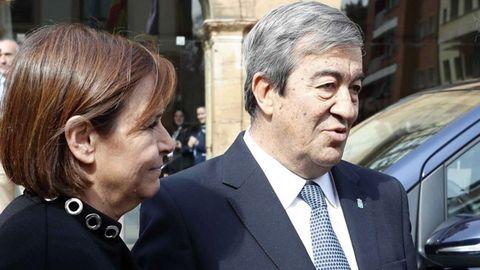 Carmen Moriyón y Francisco Álvarez Cascos