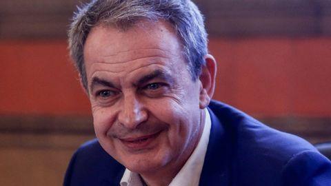 El expresidente José Luis Rodríguez Zapatero