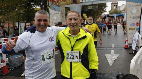 Miles de atletas recorrieron las calles de Ourense en la clásica atlética de otoño