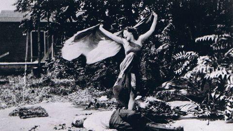 Alice Eis, en «The Vampire», rodada en 1913