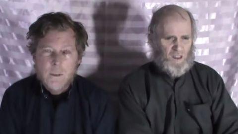Timothy Weeks y Kevin King aparecieron en un vídeo, en el 2017, suplicando por su liberación