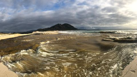 Laguna de Louro el 13 de noviembre del 2019