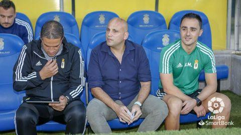 Rozada, en el medio, junto a Benavides y Alberto Martínez