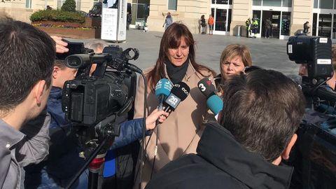 Laura Borràs, portavoz de JxCat en el Congreso