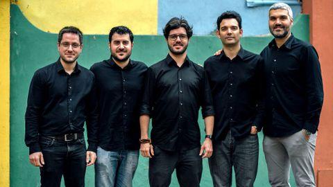 Zoar Ensemble actúa en el Círculo das Artes
