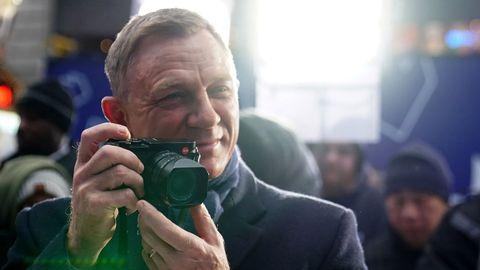 Daniel Craig, este miércoles en Nueva York, durante un acto promocional de «No Time to Die»