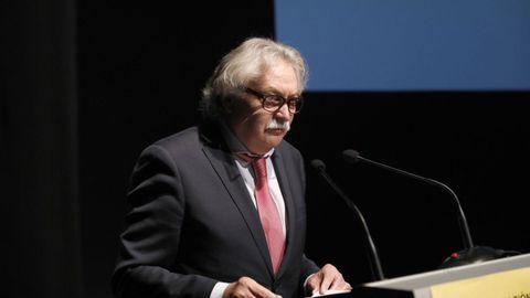 El subdelegado del Gobierno en Ourense, Emilio González Afonso.