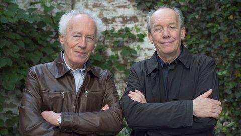 Los hermanos Jean-Pierre y Luc Dardenne, cineastas belgas y autores de la película «El joven Ahmed»