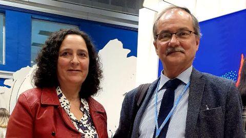 Belén do Campo y Miguel Clusener-Godt, en la cumbre del clima en Madrid