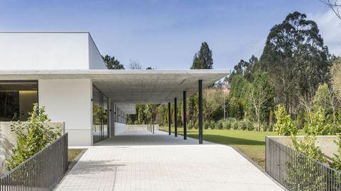 Nueva residencia  Martín Pou  de Aspronaga en Lamastelle (Oleiros), financiada por la Fundación Amancio Ortega