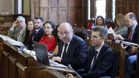 El vicepresidente del Gobierno y consejero de Infraestructuras, Medio Ambiente y Cambio Climático, Juan Cofiño (