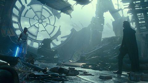 Fotograma del filme de J.J. Abrams «Star Wars: El ascenso de Skywalker», estrenado este viernes