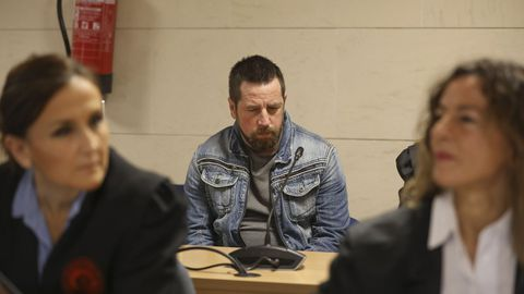 El Chicle, apodo de José Enrique Abuín Gey, durante el juicio por el que fue condenado a prisión permanente revisable