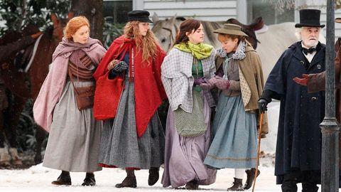 Fotograma de la nueva adaptación de «Mujercitas», dirigida por Greta Gerwig