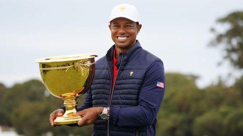 El más grande jugador de golf de todos los tiempos se declara ahora seducido por la oportunidad de ser olímipico. Llegaría a Tokio con 45 años. Aunque la competencia por una plaza con EE.UU. es alta, es favorito.