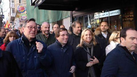El alcalde de Madrid, Martínez Almeida, ha secundado la manifestación