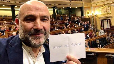Imagen de Néstor Rego en el Congreso