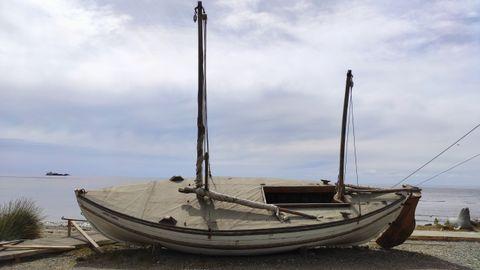 Réplica del James Caird, el bote salvidades que utilizó Ernest Shackleton para abandonar la Antártida en busca de ayuda