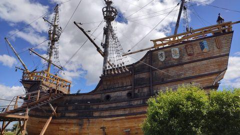 A bordo del Victoria, capitaneado por Sebastián Elcano, iban solo 18 hombres de los 265 que partieron inicialmente en la expedición de Magallanes. En la imagen una recreación del navío en el museo de Punta Arenas (Patagonia chilena)