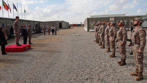 España cuenta con un contingente de 550 soldados desplazados a Irak