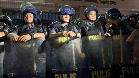 Agentes de la Policía filipina, en una imagen de archivo