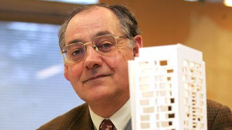 El arquitecto gallego Domingo Pellicer Daviña, catedrático de Construcciones