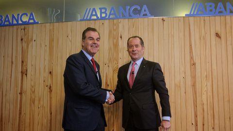 En directo: Firma del acuerdo entre Deportivo y Abanca