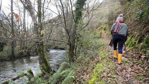 El río Eo a su paso por Cortevella