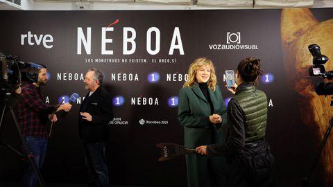 El preestreno de «Néboa» atrajo el interés mediático
