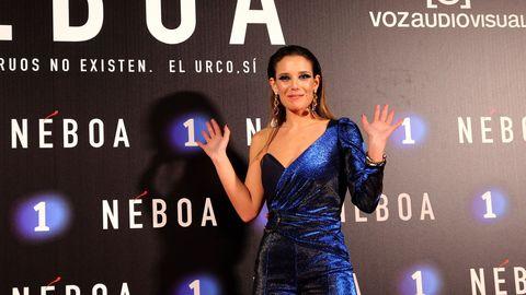 La actriz de «Néboa» Carmela Martins
