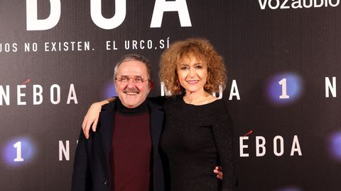 Morris junto a Sonia Castelo