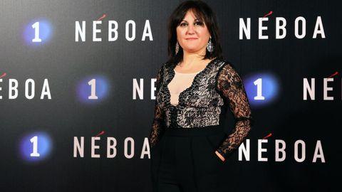 La actriz Iolanda Muíños