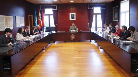 El Consejo de Gobierno del Principado, reunido en Noreña