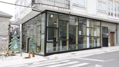 Un comercio nuevo en el núcleo urbano de A Veiga
