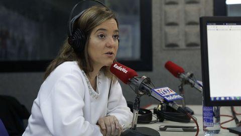 LA ALCALDESA INÉS REY, EN RADIOVOZ. IMAGEN DE ARCHIVO