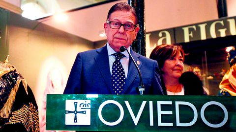 Alfredo Canteli, alcalde de Oviedo