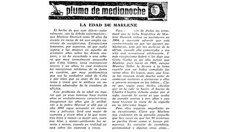 Análisis publicado en La Voz de Galicia del 5 de diciembre de 1962