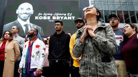 Homenajes y muestras de dolor en todo el mundo por la muerte de Kobe Bryant