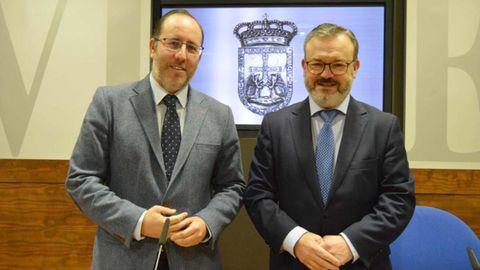 Mario Arias y Alfredo García Quintana