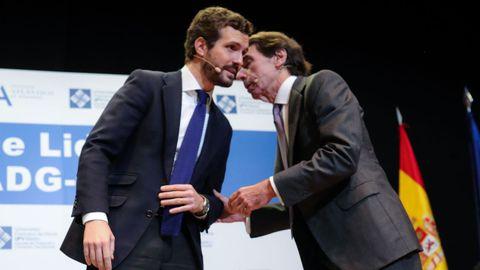 Casado y Aznar, en una imagen de archivo