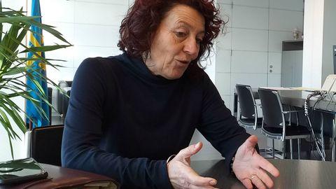La alcaldesa de El Franco, Cecilia Pérez